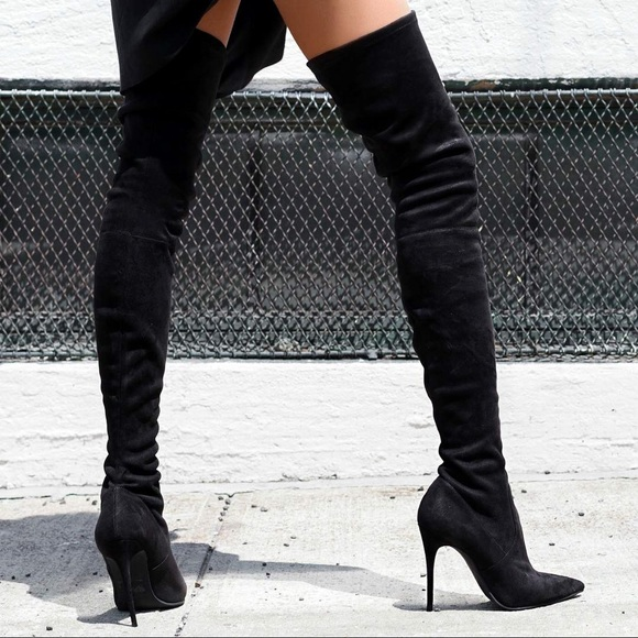 efce0bf97a9 Steve Madden Thigh High   Over the Knee Boots. M 5b9b2fc4c9bf50bd746ff021
